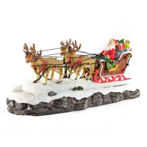 Santas Majestic Sleigh anim/music