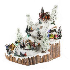 Snow Run Mountain anim/music