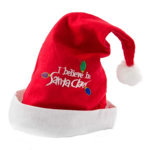 Santa Hat I Believe