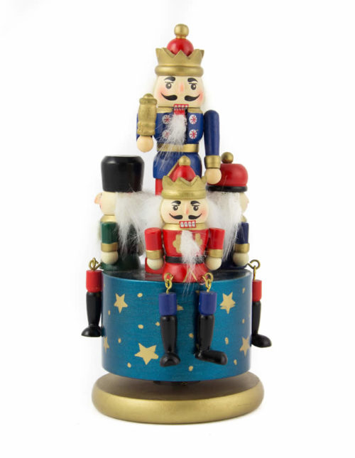 Nutcracker Carousel Musical (Assorted Designs)