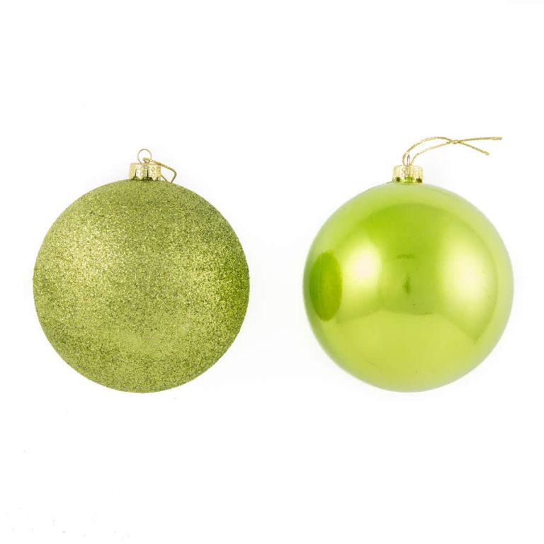 Lime 10Cm Shiny/Sugar 2Pk