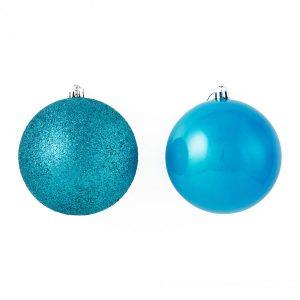 Blue 10Cm Shiny/Sugar 2Pk