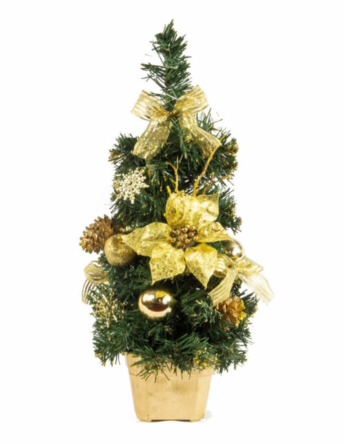 Gold Table Tree 40Cm