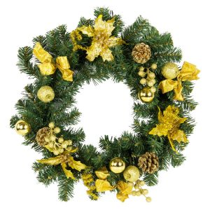 Gold Wreath 50Cm