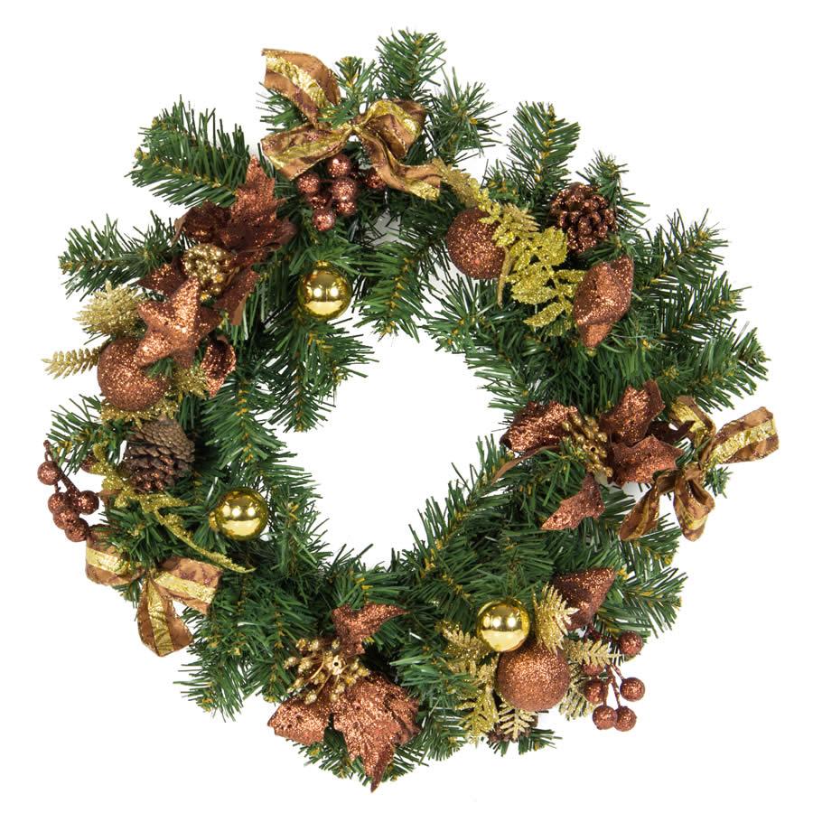 Coffee Wreath 40Cm