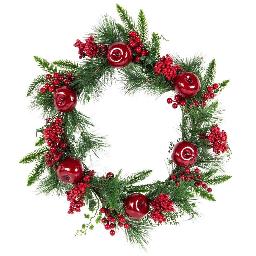 Apple Berry Wreath 50cm