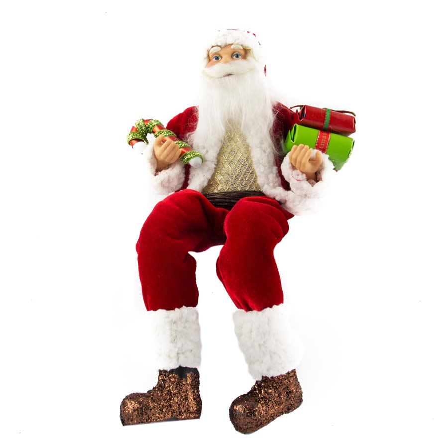 Sitting Santa (Version 2) - 30cm