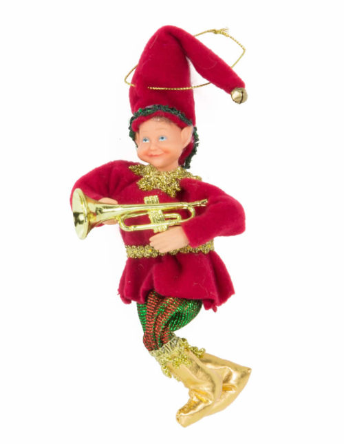 Music Elf Climbing - 11cm