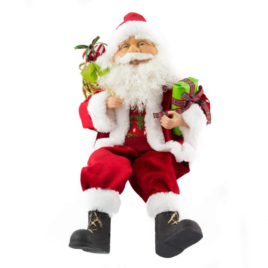 Sitting Santa - 40cm