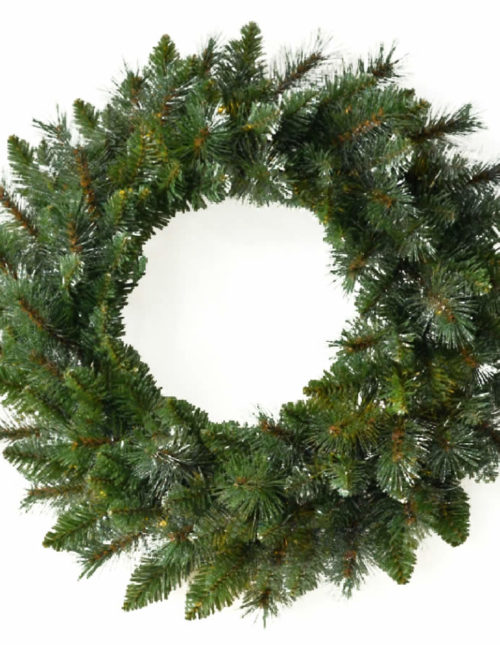 Glitter King Wreath 60cm