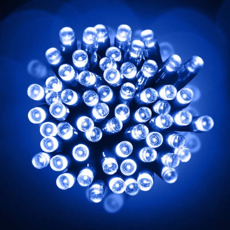Led 10M Lights Blue