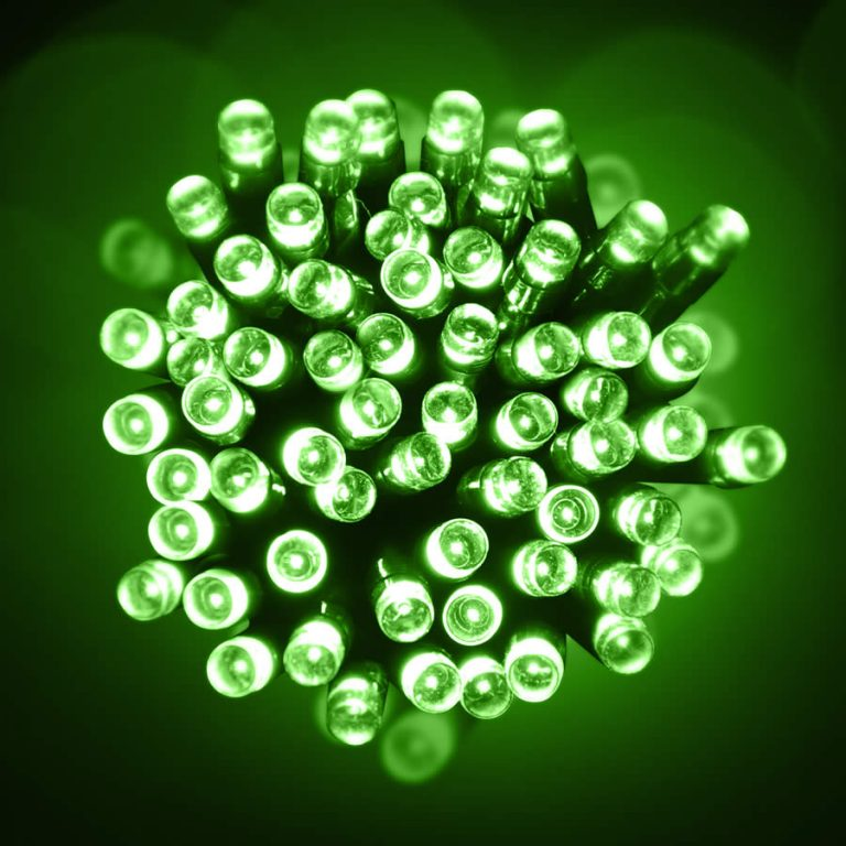 Led 10M Lights green