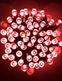 Led 10M Lights Red