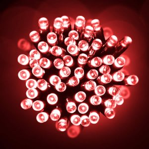 Led 10M Lights Red