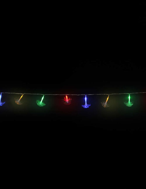 Led Multicolour Fibre Glass Lights