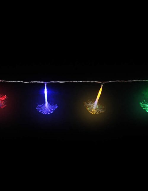 Led Multicolour Fibre Glass Lights