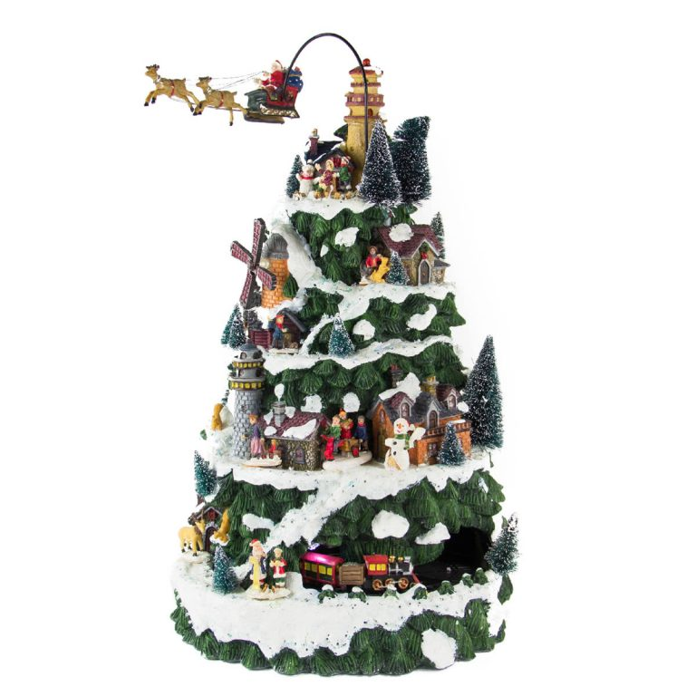 Christmas Mountain Village anim/music