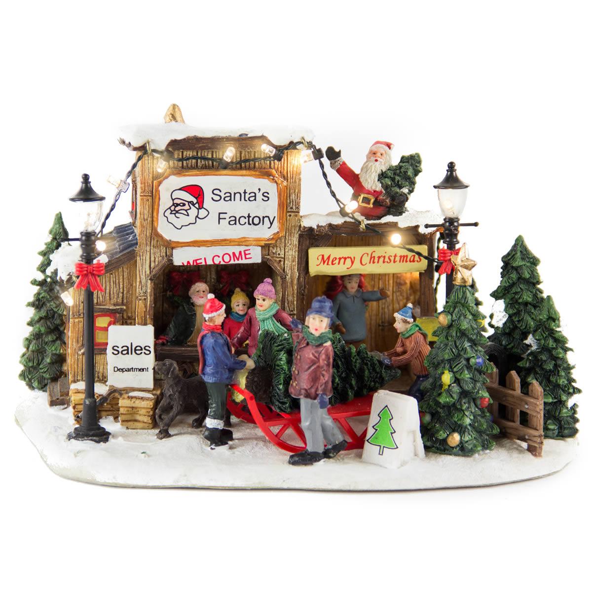 Santas Factory Tree Sale bop