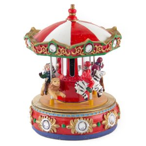 Children on Merry Go Around anim/music bop