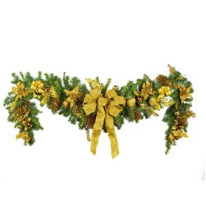Luxe Gold Drop Garland