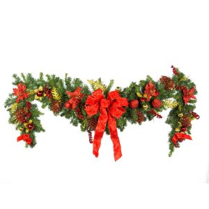 Luxe Red Drop Garland