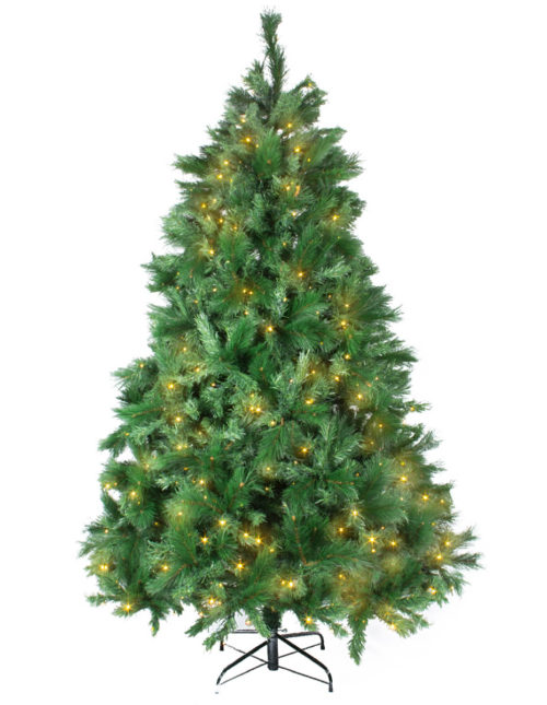Noble Pine 225Cm Warm White Led Tree