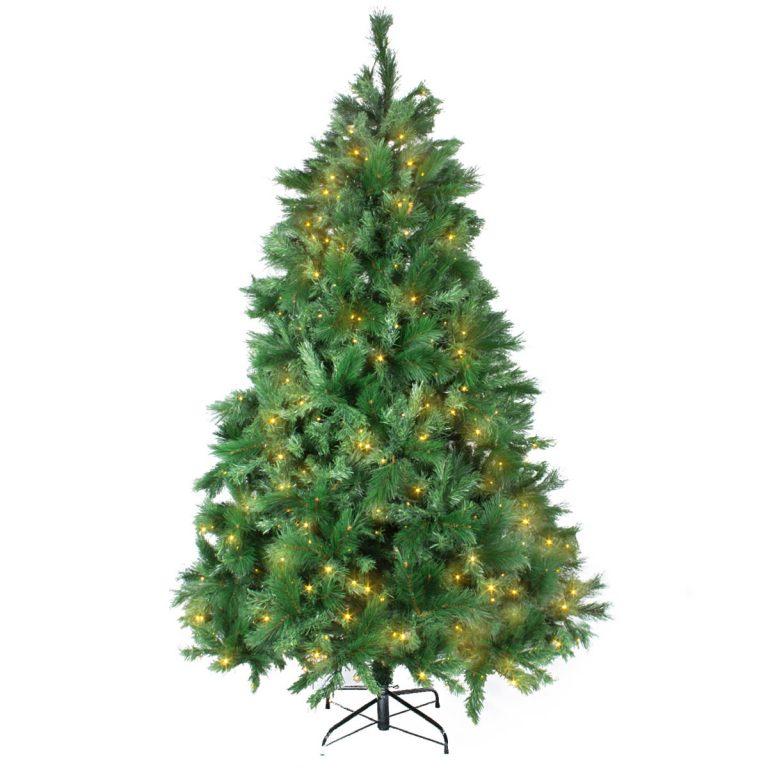 Noble Pine 225Cm Warm White Led Tree