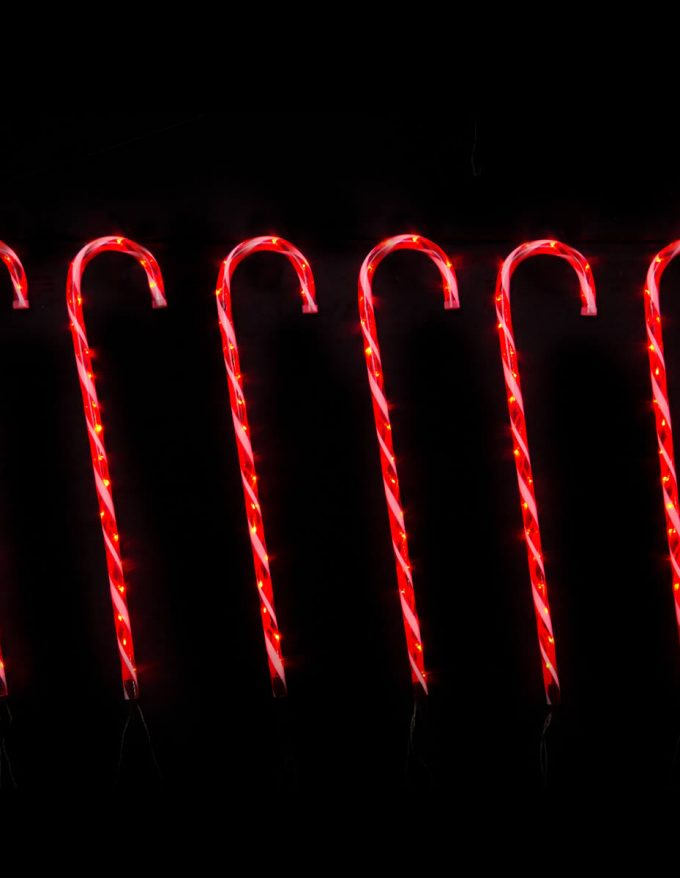 Led candy canes red lights s6 christmas lights displays rope light led candy canes red lights s6 mozeypictures Gallery