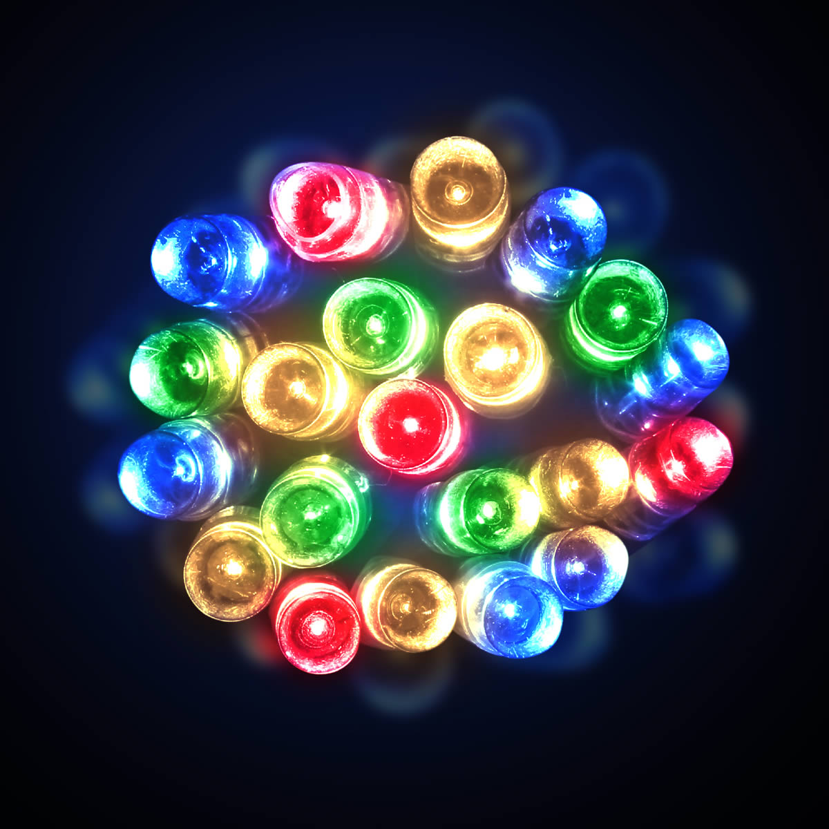 Battery Operated Multicolour Led Lights