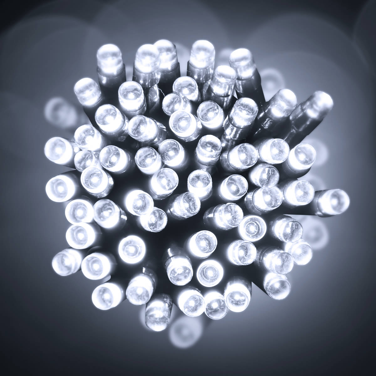 200 Cold White LED Battery Lights