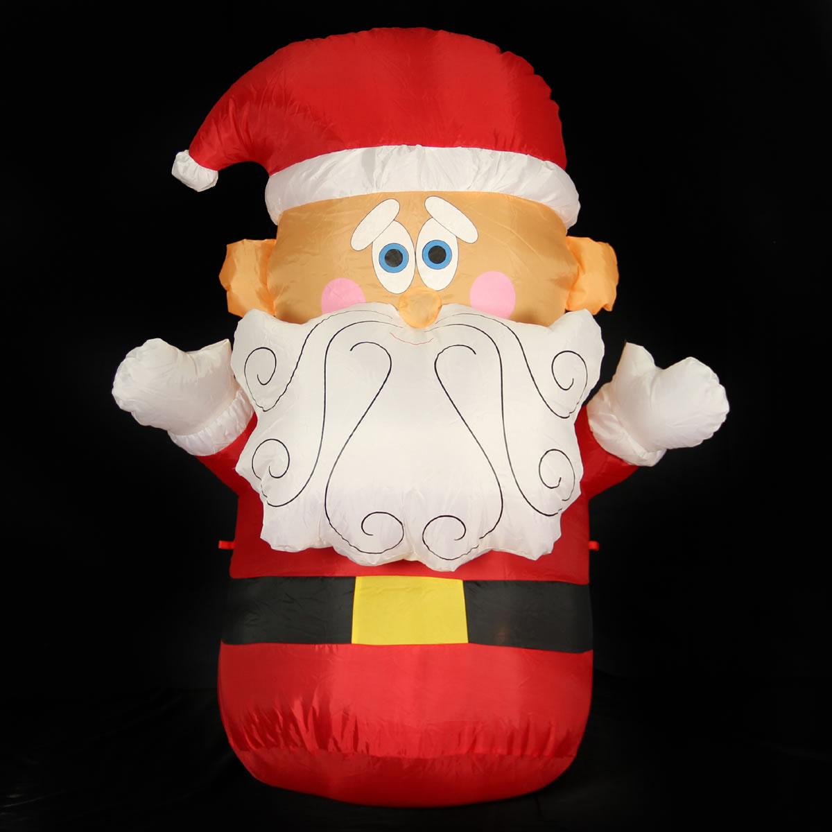 4ft Santa Inflatable