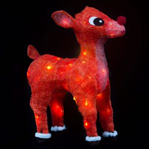 Rudolf Deer WW LED 70cm