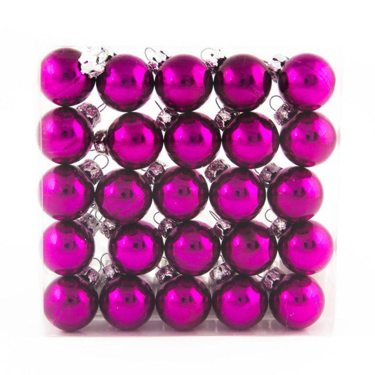 Purple 2.5cm 25pk