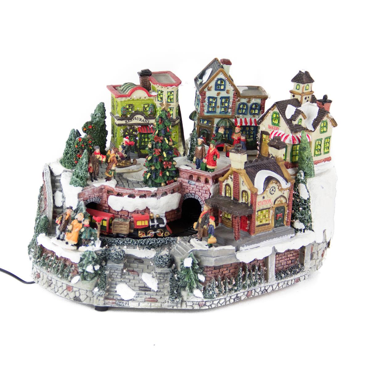 Christmas Village foptic/anim Christmas Villages