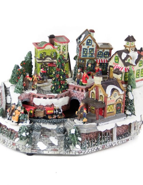 Christmas Village foptic/anim