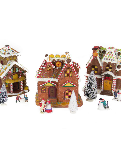 Candy Houses set of 3 B.opp