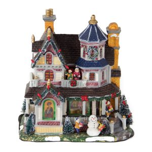 Christmas Turret House b/o