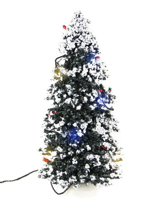 Lit Snowy Pine med b/o 3V