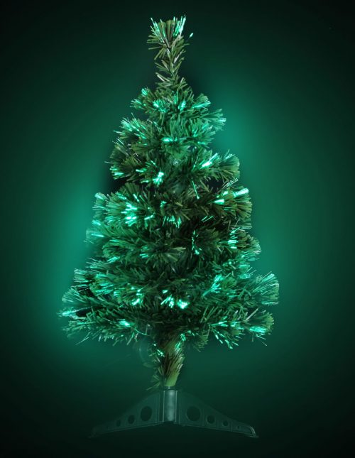 #1270 LED Fibre Optic Tree 70cm