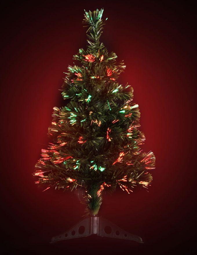 #1270 LED Fibre Optic Tree 70cm