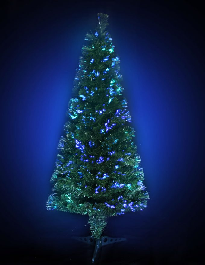 #1287 LED Fibre Optic Tree 150cm