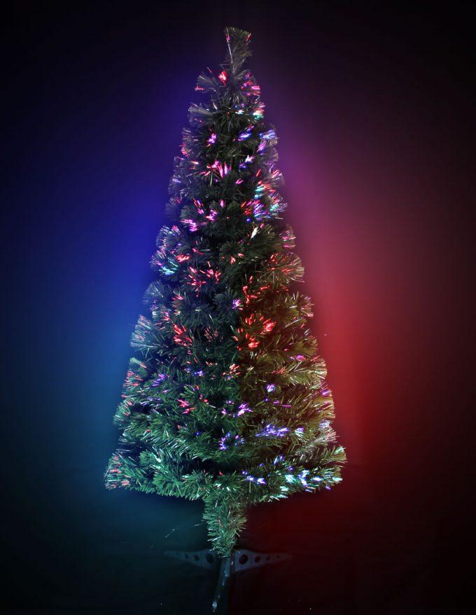 #1287 LED Fibre Optic Tree 150cm