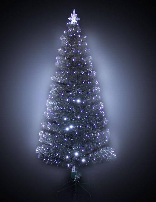 #3113 Silver LED F/O Tree 180cm