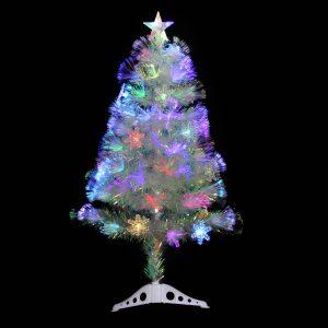 #3205 White F/O Tree 90cm