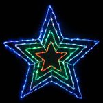 LED Star 4 Bands 86 cm